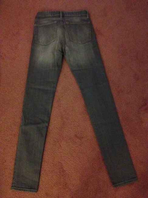 Gap Colored Denim Skinny Skinny Jeans-Medium Wash