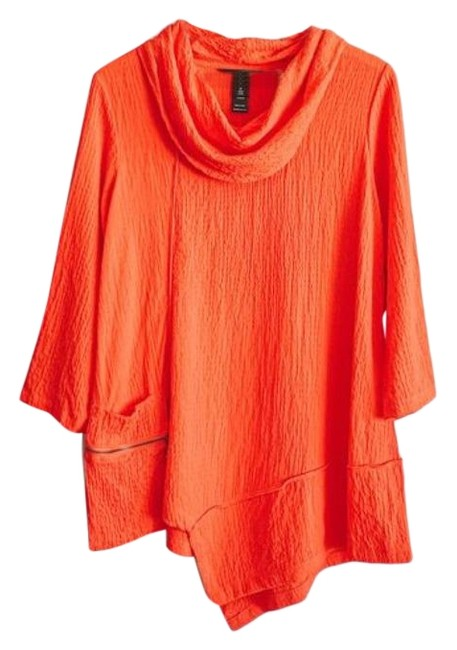 Item - Red Nwot Cowl-neck Tunic Size 10 (M)