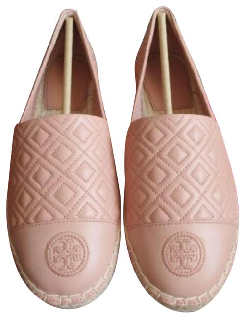 Item - Pink Moon Quilted Flat Espadrilles Platforms Size US 7 Regular (M, B)