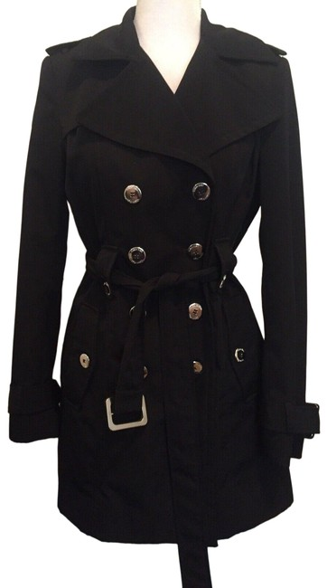 Item - Black Double Breated Coat Size 2 (XS)