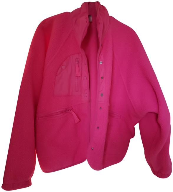 Item - Tropical Pink Hit The Slopes Fleece Activewear Outerwear Size 8 (M)
