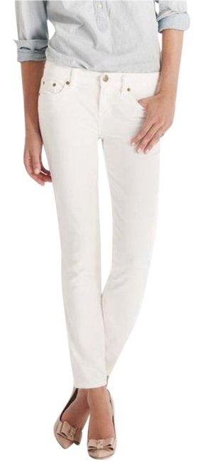Item - White Light Wash Toothpick Ankle Skinny Jeans Size 32 (8, M)