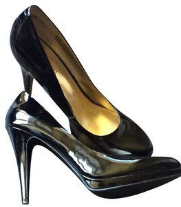 Nine West Black Patent Pumps