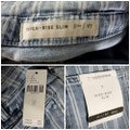 Anthropologie Blue & White Acid Pilcro Washed Striped New Skinny Jeans Size 27 (4, S) Anthropologie Blue & White Acid Pilcro Washed Striped New Skinny Jeans Size 27 (4, S) Image 10