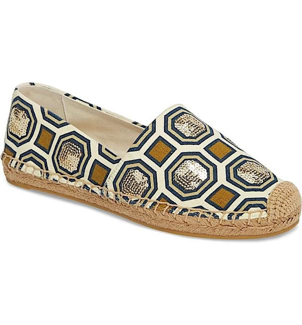 Item - Multi New Cecily Sequin Embellished Espadrille Flats Size EU 36.5 (Approx. US 6.5) Regular (M, B)