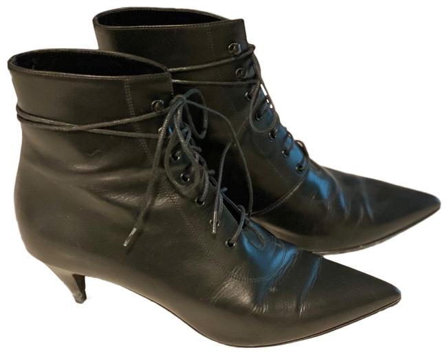 Item - Black Lace-up Boots/Booties Size EU 37 (Approx. US 7) Regular (M, B)