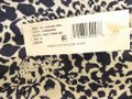 Rebecca Taylor Blue Leopard Tiered Ruffled Silk New with Tags Short Casual Dress Size 6 (S) Rebecca Taylor Blue Leopard Tiered Ruffled Silk New with Tags Short Casual Dress Size 6 (S) Image 7