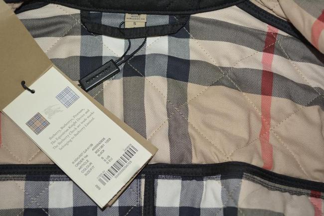 Burberry Black Ashurst Quilted Check Coat Jacket Size 4 (S) Burberry Black Ashurst Quilted Check Coat Jacket Size 4 (S) Image 11