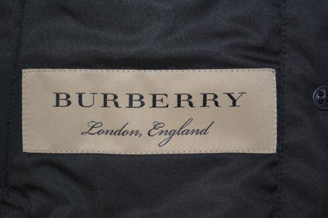 Burberry Black Ashurst Quilted Check Coat Jacket Size 4 (S) Burberry Black Ashurst Quilted Check Coat Jacket Size 4 (S) Image 9