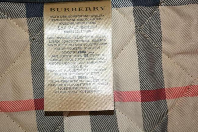 Burberry Black Ashurst Quilted Check Coat Jacket Size 4 (S) Burberry Black Ashurst Quilted Check Coat Jacket Size 4 (S) Image 10