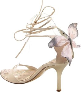 Vicini Ivory, Pink Sandals