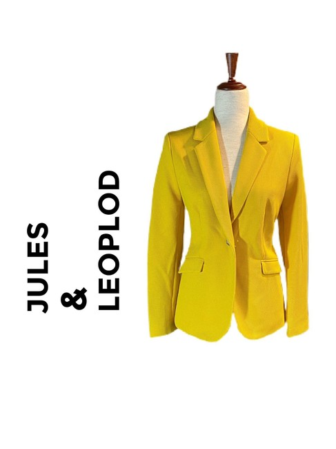 Item - Citron Yellow None Blazer Size 8 (M)