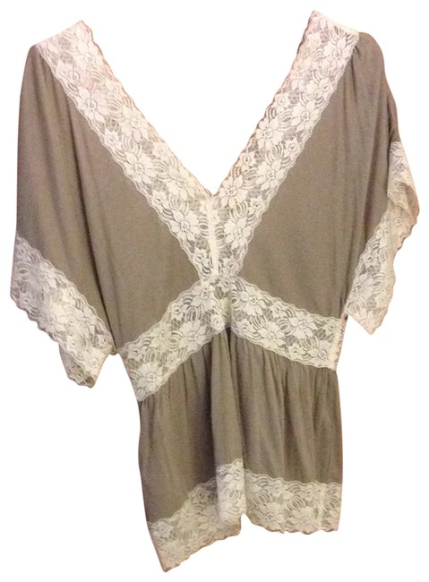 Forever 21 21 Bohemian Top olive green