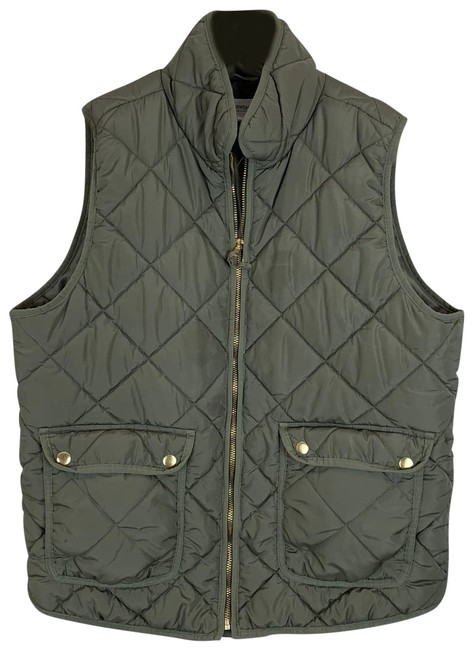 Item - Green L Republic Clothing Hunter Quilted Puffer Large Vest Size 12 (L)