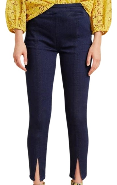 Item - Pilcro and The Letterpress Blue Medium Wash Anthro High Rise Skinny Jeans Size 27 (4, S)