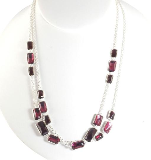 Preload https://item5.tradesy.com/images/ippolita-red-silver-long-sterling-harlow-wonderland-station-chain-37-necklace-2832589-0-0.jpg?width=440&height=440