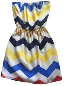 Karlie short dress Multicolored on Tradesy