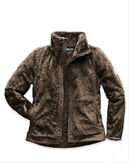 Item - Brown Womens Furry Fleece Coat Size 4 (S)
