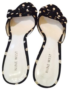 Nine West Black and white Sandals