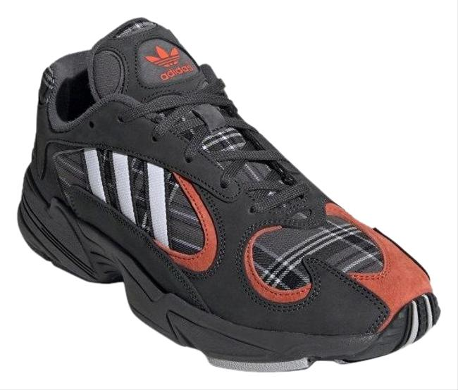 Item - Black Grey Orange Yung-1 Ef3967 Sneakers Size US 7 Regular (M, B)