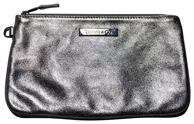 Item - Company Silver Leather Clutch