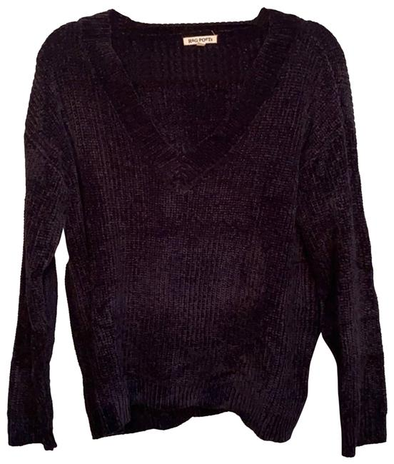 Item - Knitted Women's Black Sweater