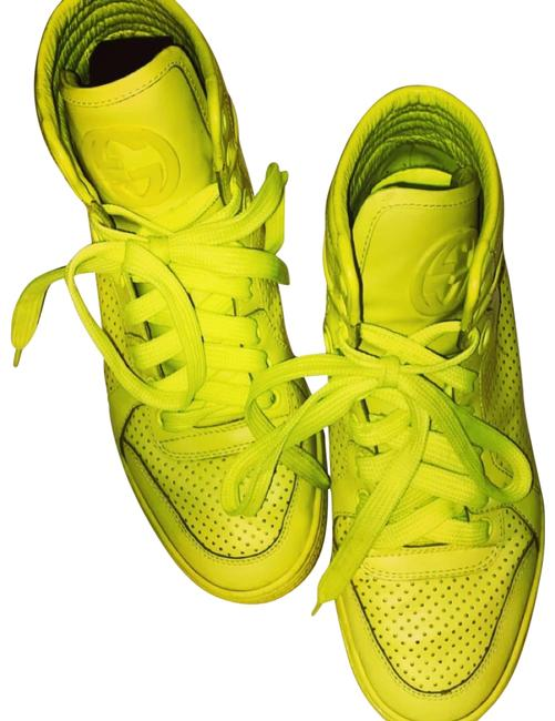 Item - Yellow Unknown Sneakers Size US 6.5 Regular (M, B)