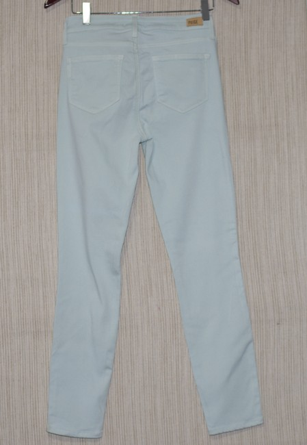 Paige Mojito Mint Light Wash Vertugo Ankle Rayon Cotto Polyester Pants Jeggings Size 28 (4, S) Paige Mojito Mint Light Wash Vertugo Ankle Rayon Cotto Polyester Pants Jeggings Size 28 (4, S) Image 3