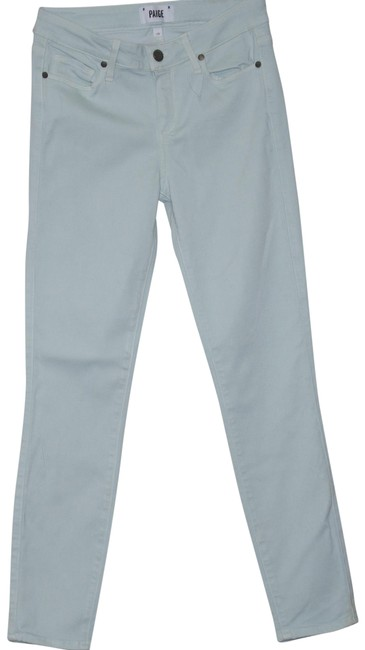 Item - Mojito Mint Light Wash Vertugo Ankle Rayon Cotto Polyester Pants Jeggings Size 28 (4, S)