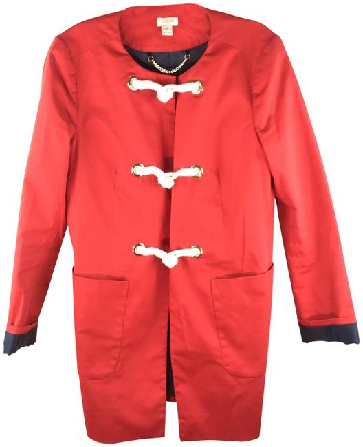 Item - Red Nautical Toggle Jacket Size 12 (L)