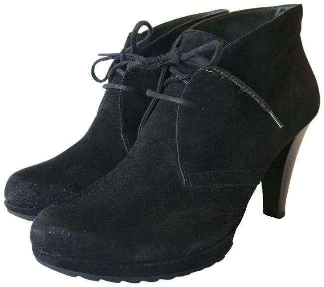 Item - Black Suede High Heel Boots/Booties Size US 9 Regular (M, B)