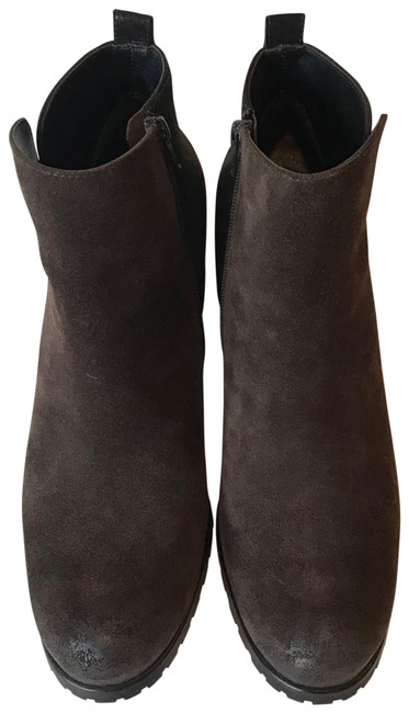 Item - Brown Suede and Leather Boots/Booties Size US 9 Regular (M, B)