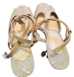 Gianni Bini Silverish Sandals