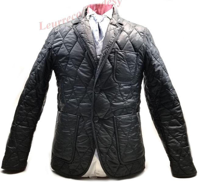 Item - Black Gillington Water Resistant Quilted Men's Jacket Size 8 (M)