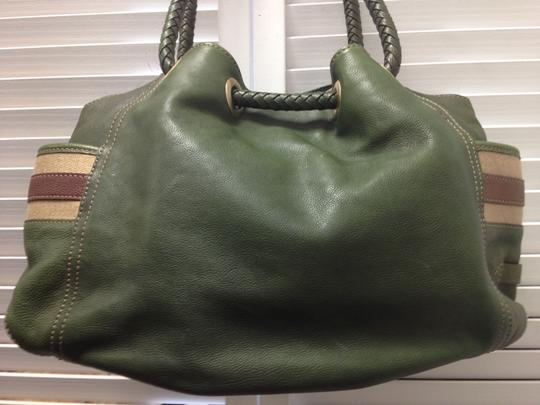 Cole Haan Leather Unique Tote Large Shoulder Bag