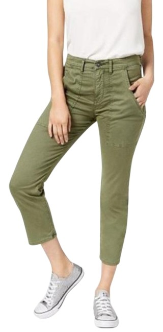 Item - Green The Leverage Ankle Cargo Pant Forester Capris Size 2 (XS, 26)