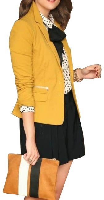 """Item - Gold """"The Perfect Fit"""" Blazer Size 8 (M)"""