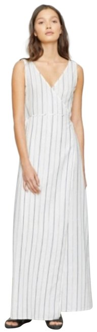 Item - White Grace Maxi Dress Wrap - Striped Cover-up/Sarong Size 4 (S)