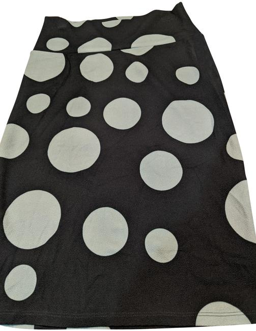 Item - Teal and Mint Polka Dot Cassie Skirt Size 4 (S, 27)