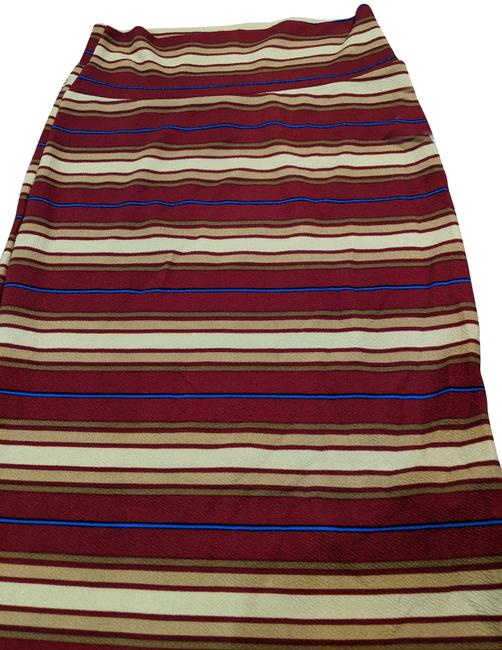 Item - Red Stripe Cassie Skirt Size 0 (XS, 25)