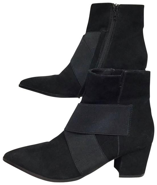 Item - Black Xara Suede Pointed Toe Ankle Boots/Booties Size US 8 Regular (M, B)