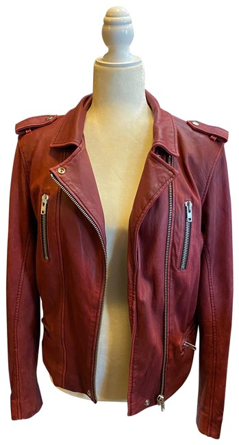 Item - Burgundy Red Barby Jacket Size 8 (M)