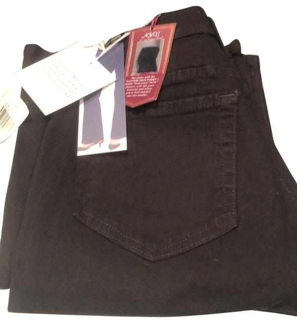 Item - Black Dark Rinse Tummy Tuck High Waist Relaxed Fit Jeans Size 6 (S, 28)