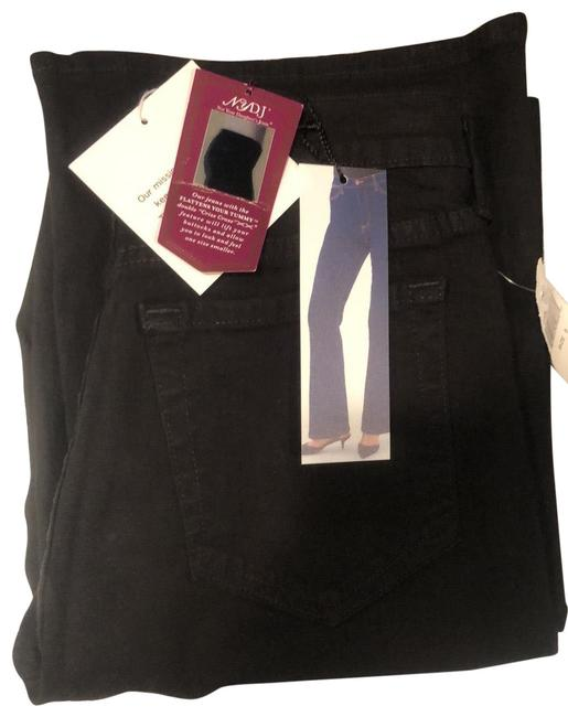 Item - Black Dark Rinse Tummy Tuck Relaxed Fit Jeans Size 10 (M, 31)