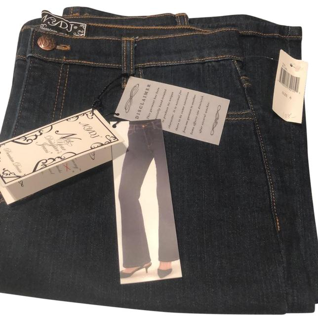 Item - Dark Blue Rinse Tummy Tuck Relaxed Fit Jeans Size 6 (S, 28)