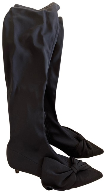Item - Black Over The Knee Boots/Booties Size EU 38 (Approx. US 8) Regular (M, B)