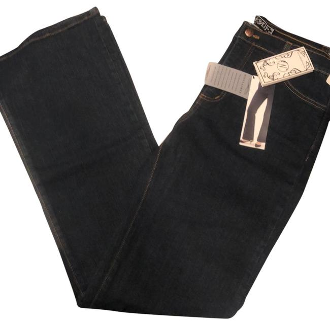 Item - Dark Blue Rinse Tummy Tuck Relaxed Fit Jeans Size 8 (M, 29, 30)