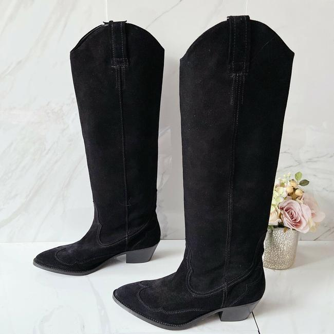 Item - Black Valery Boots/Booties Size US 10.5 Regular (M, B)
