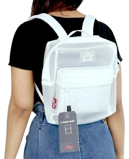 Levi's Small Clear Pvc Backpack Levi's Small Clear Pvc Backpack Image 1