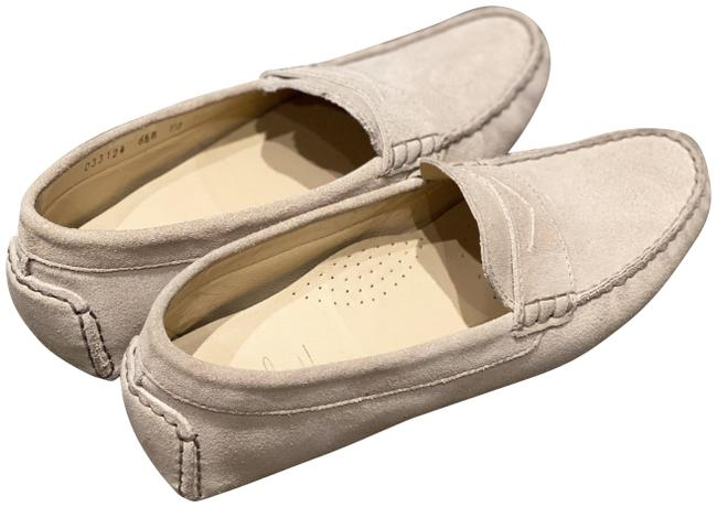 Item - Tan Suede Leather Penny Loafers Flats Size US 6.5 Regular (M, B)